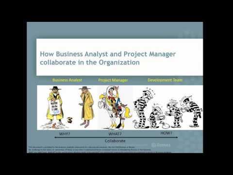 """Webcast: """"Como colabora o Business Analyst e o Project Manager numa organização"""""""