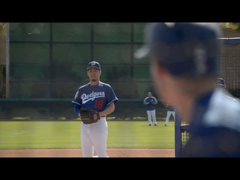 Matt Kemp and Dodgers Photo Day highlights, Kenta Maeda faces Corey Seager and Cody Bellinger