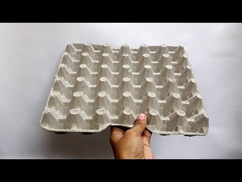 5 Incredible Idea Of Recycling Egg Cartons
