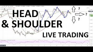 Live Head & Shoulder Trade