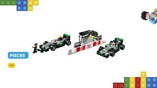LEGO MERCEDES AMG PETRONAS Formula One Team 75883: Review