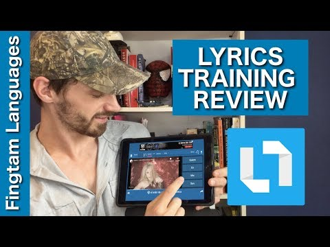 Best app for learning languages with MUSIC (Lyrics Training)