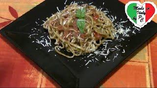 Уроки итальянской кухни № 25 - Паста кон иль песто россо