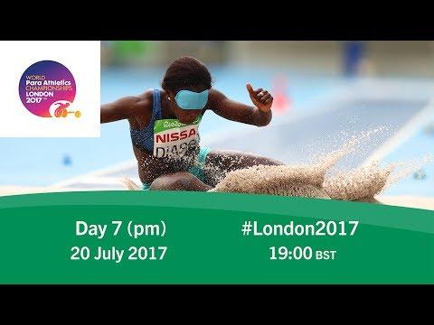 Day 7   Evening   World Para Athletics Championships London 2017