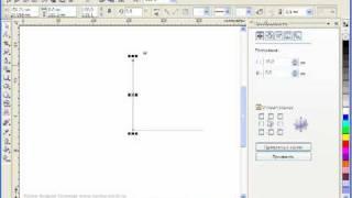 Как нарисовать координатную сетку в Corel Draw