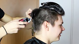 Hair Tutorial #5   Haare schneiden Tutorial   NUYÄN