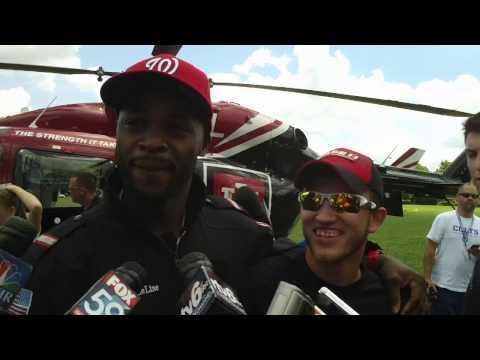 Reggie Wayne arrives at Colts camp 2013