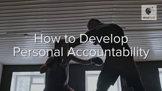 How to Develop Perṡonal Accountability