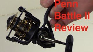 Penn Battle II Review (Penn 2500 Series Fishing Reel)