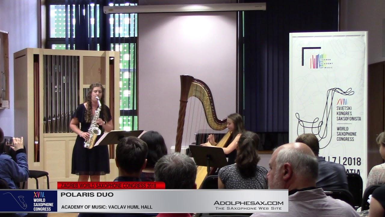 Polaris by Paul Mitchell Davidson   Polaris Duo   XVIII World Sax Congress 2018 #adolphesax