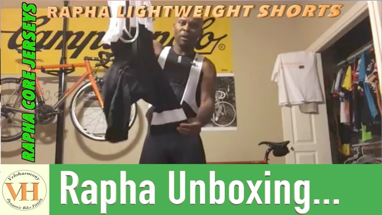 131159ff8 Unboxing Rapha Lightweight Shorts   Rapha Core Jerseys - YouTube