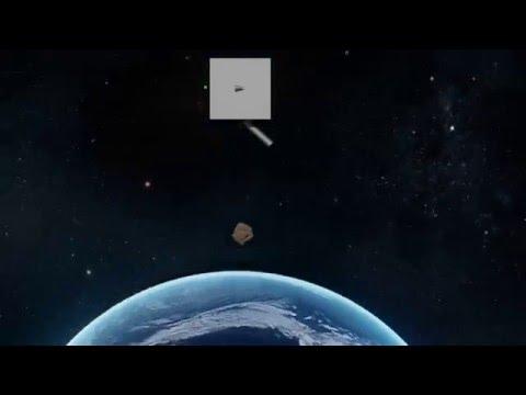 Space Debris Removal - Laser Repulsion Beam Satellite