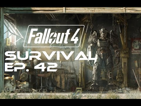 Fallout 4 Survival 100% - Ep. 42 - Back Street Apparel, Boston Library, Copley station