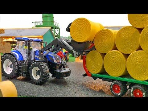 New holland t bruder traktor bruder new holland bruder