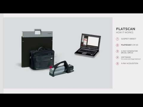 Portable X-Ray scanner for Security (EOD) - Leave no room for error - FLATSCAN