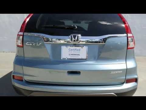 Certified 2016 Honda CR V West Palm Beach Juno, FL #JE043974A