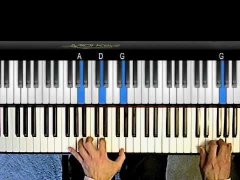 Jazz Piano Tutorial - Little Sunflower