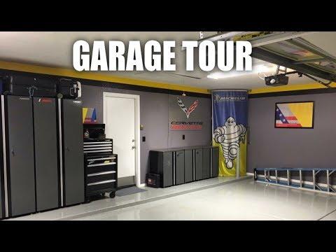 My Corvette Garage Tour