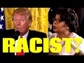 Did Donald Trump Ask Black Reporter April Ryan A Racist Question?