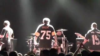 The Acacia Strain - Send Help Live in HD at Mod Club Toronto 12-10-2015