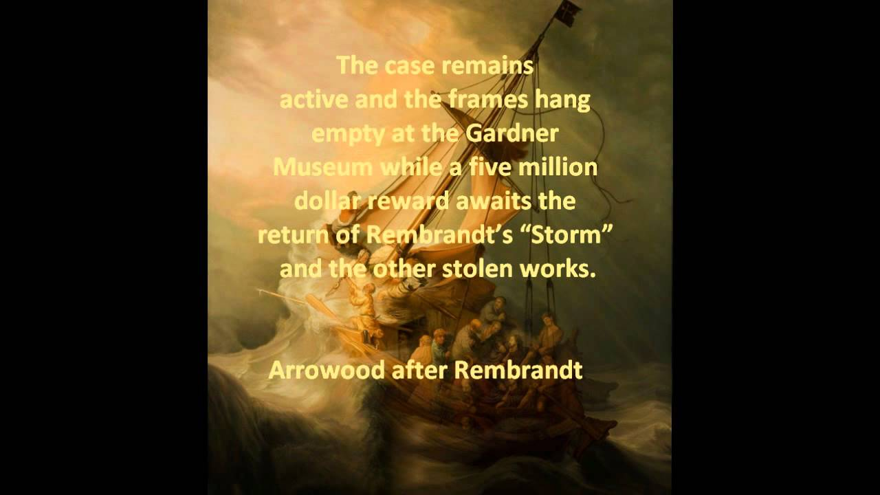 Christ in the storm on the sea of galilee arrowood after rembrandt christ in the storm on the sea of galilee arrowood after rembrandt etc youtube publicscrutiny Images