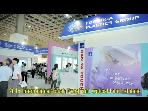 2015 International Touch Panel and Optical Film Exhibition in Taipei.