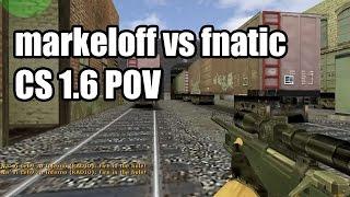 POV: markeloff vs. fnatic @ArbaletCup Na'Vi CS 1.6 Demo