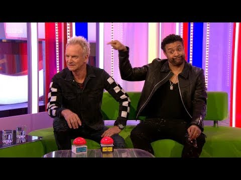 Sting & Shaggy Interview+Live Music - Don't Make Me Wait. The One Show. BBC. 29 Mar 2018