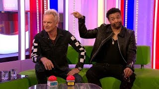 Sting & Shaggy Interview+Live Music - Don