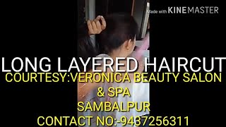 IN THIS VIDEO I AM GOING TO SHOW YOU HOW TO CUT LONG LAYERED HAIRCU...