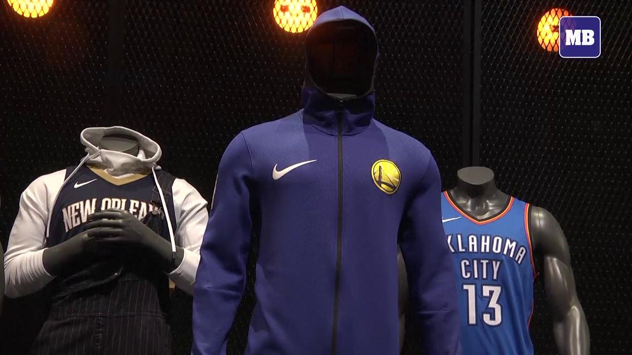 NBA players unveil new jerseys