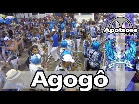 Portela 2015 - Agogô - Ensaio técnico