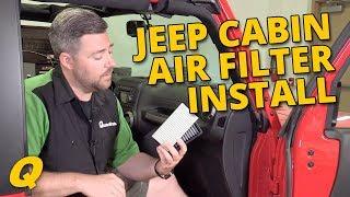 Mopar 68233626aa Cabin Air Filter For 14 18 Jeep Wrangler Wrangler Unlimited Jk Quadratec