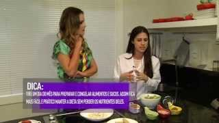 Programa Vitória Fashion - Cozinha Funcional com a nutricionista Roberta Larica - 03/01/2015 Thumbnail