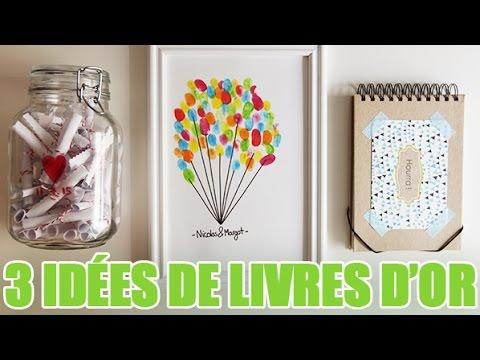 Favori Créer de magnifiques livres d'or pour votre mariage - YouTube AT27