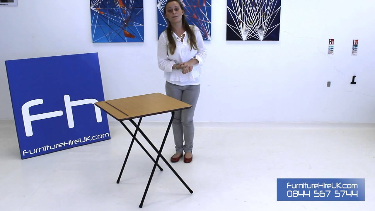 Exam Desk Demo - Furniture Hire UK