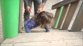 Lamiya gibt Gas auf dem Spielplatz Vlog#198