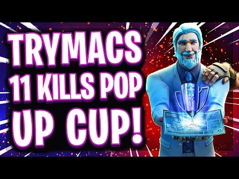 😱🔥11 KILLS IM POP UP CUP?!   Meine BESTE Fortnite Runde aller Zeiten?!