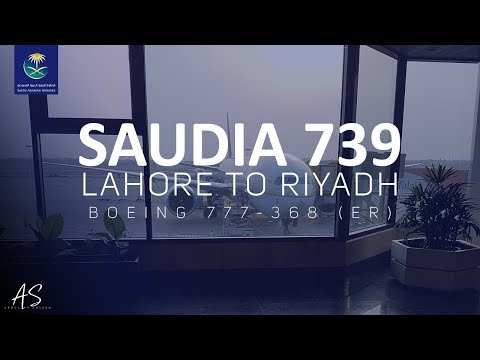 Lahore to Riyadh Flight | Saudi Airlines