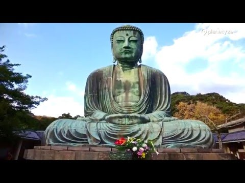 Great Buddha (Kamakura Daibutsu), Kamakura -  | One Minute Japan Travel Guide