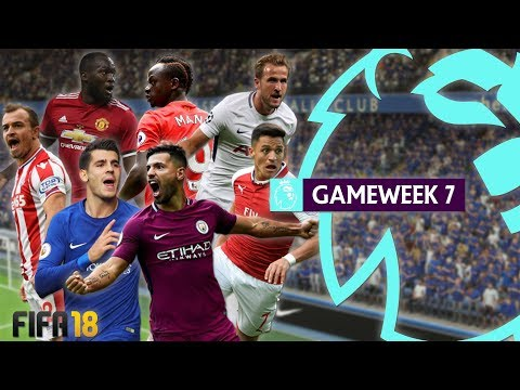 FIFA 18 Premier League - Gameweek 7 Highlights