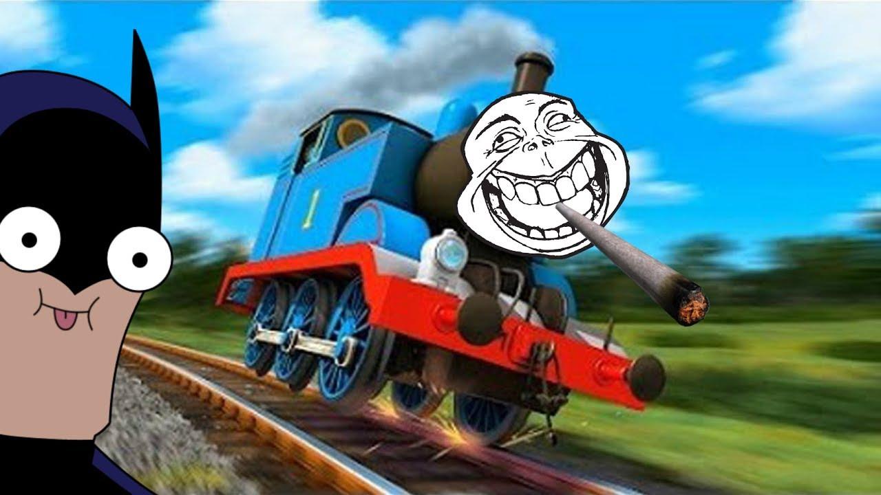 thomas die lokomotive am ausrasten funny thomas the train