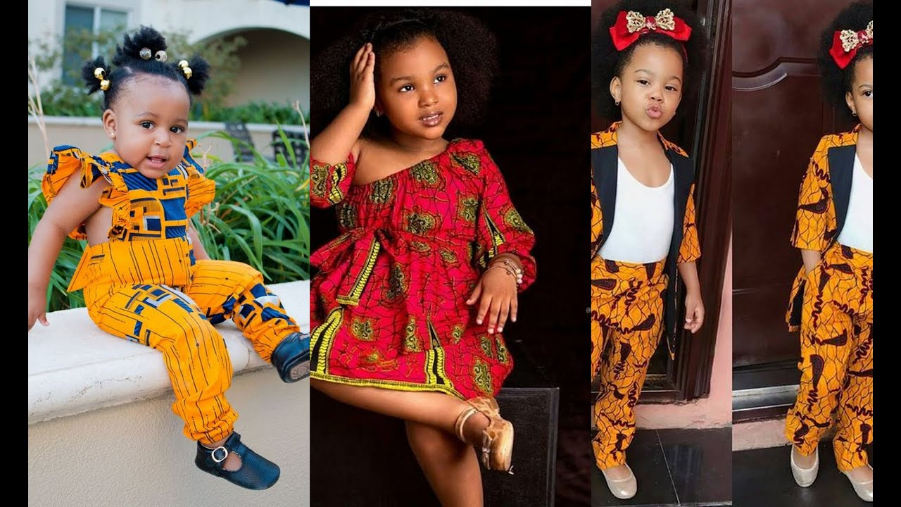 Download BEAUTIFUL #ANKARA STYLES FOR KIDS IN 2020 | 45 STYLISHLY DAZZLING #ANKARA STYLES FOR THE GIRL CHILD