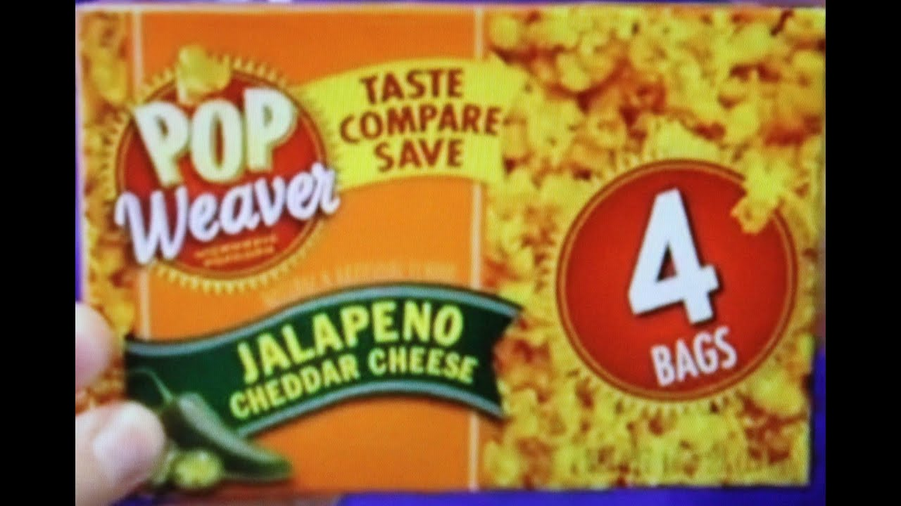 Pop Weaver Jalapeno Cheddar Cheese Popcorn Review