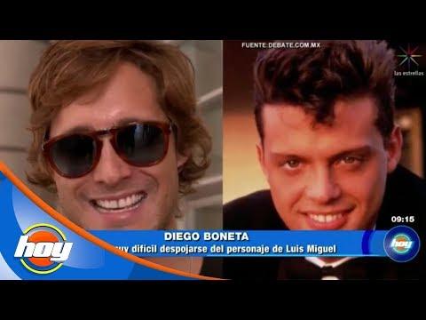 Diego Boneta confiesa que se quemó las nalgas para interpretar a Luis Miguel   Hoy