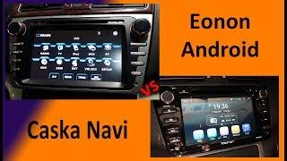 Eonon Android Vs Caska DVD Navi