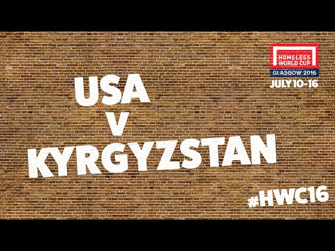United States v Kyrgyzstan l Group B #HWC2016