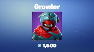 Growler | Fortnite Outfit/Skin