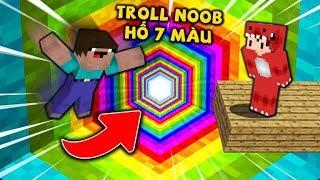 Rex Troll Noob Bằng Cái Hố 7 Màu Trong Minecraft Và Cái Kết !!
