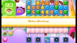 Candy Crush Jelly Saga Level 1305 (3 stars, No boosters)